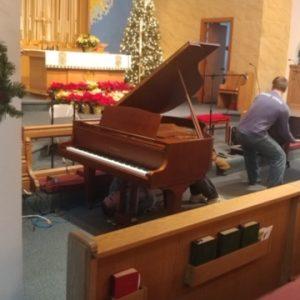 CLC's New Piano!