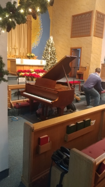 CLC's New Piano!