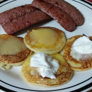 Fat Tuesday's Potato Pancake & Sausage Dinner