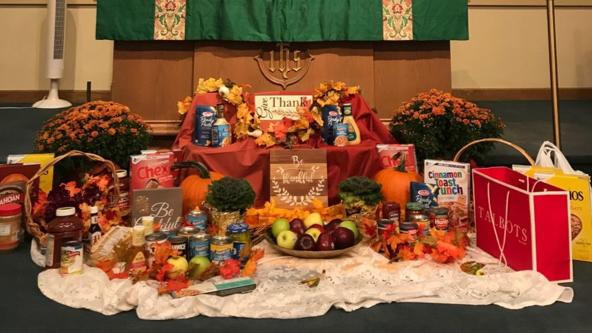 A Thankful Thanksgiving & A Joyful Christmas
